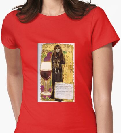 Rubiyat Of Omar Khayyam(Tori Amos) Womens Fitted T-Shirt