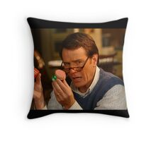 hal malcolm in the middle Throw Pillow