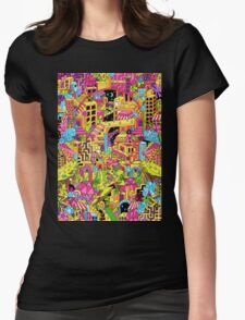 PSYCHOTROPIC Womens Fitted T-Shirt