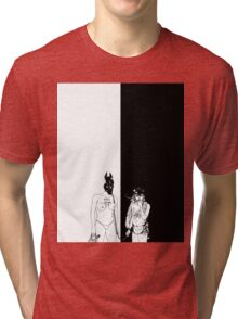 Death Grips The Money Store (graphic t-shirt) Tri-blend T-Shirt