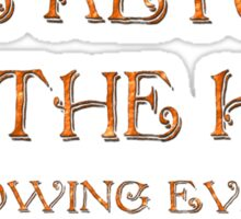 """""""The Return of the King"""" Sticker"""