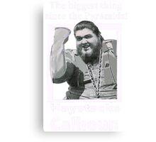 Haystacks Calhoun Classic Wrestling Canvas Print