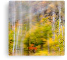 Vibrant Trees 2 - Abstract Canvas Print