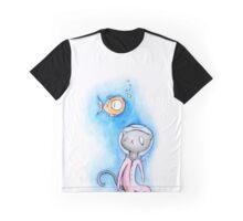Stu Cat Graphic T-Shirt