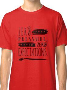 No Pressure - Black Classic T-Shirt