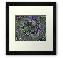 A Mystic Dust Storm Framed Print