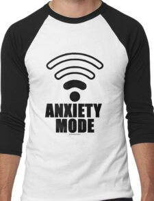Anxiety mode Men's Baseball ¾ T-Shirt