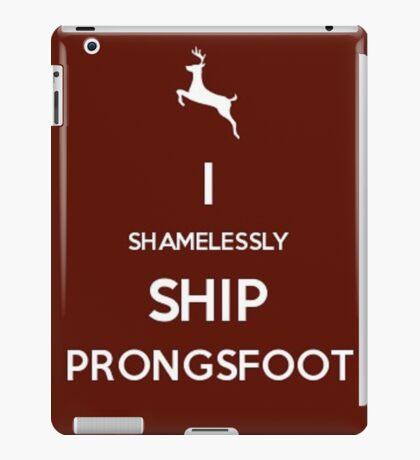 Shamelessly Ship Prongsfoot iPad Case/Skin