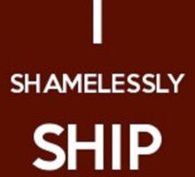 Shamelessly Ship Prongsfoot Sticker
