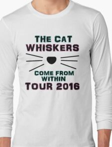 Dan and Phil NEW TOUR 2016 MERCH CAT WHISKERS! Long Sleeve T-Shirt