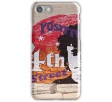 Positively 4th Street iPhone Case/Skin