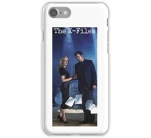The X-Files iPhone Case - White iPhone Case/Skin