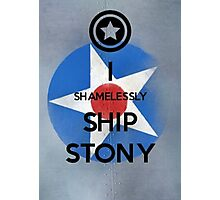 Shamelessly Ship Stony Photographic Print