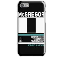 Conor McGregor - Fight Camp Collection (check artist notes for limited edition link)  iPhone Case/Skin