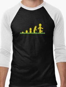 Lego Robot Evolutions Men's Baseball ¾ T-Shirt