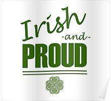 Irish and Proud Poster