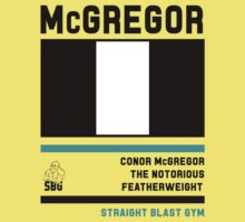 Conor McGregor - Fight Camp Collection (check artist notes for limited edition link)  Baby Tee
