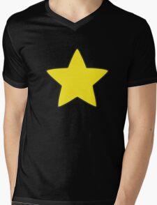 Steve Universe Yellow Star Mens V-Neck T-Shirt
