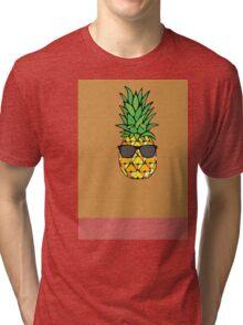 Pineapple Shades Tri-blend T-Shirt
