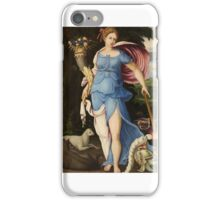 Italian School, of the 16th century, AN ALLEGORY OF PEACE iPhone Case/Skin