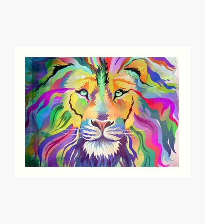The King of Technicolor Art Print