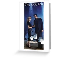 The X-Files Greeting Card Greeting Card