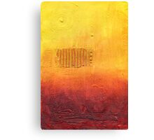 Climate Change series - Long Hot Summer  Canvas Print