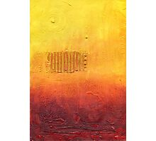 Climate Change series - Long Hot Summer  Photographic Print