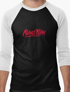 Kung Fury - Logo Men's Baseball ¾ T-Shirt