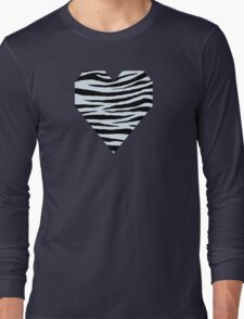 0244 Azurish White Tiger Long Sleeve T-Shirt