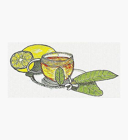 Tea with Lemons Photographic Print
