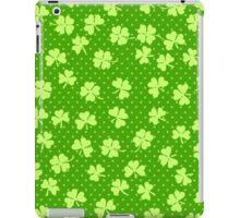 Clover on Polka Dots iPad Case/Skin