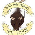 Rats are friends not fiends by placidplaguerat