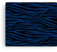 0142 Cool Black Tiger Canvas Print