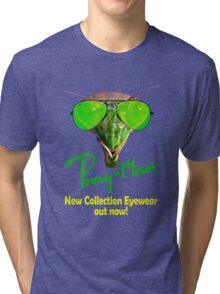 Pray man eyewear - new collection sunglasses out now Tri-blend T-Shirt