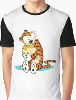 Calvin and hobbes i like moment Graphic T-Shirt