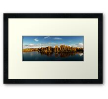 Autumn in Oulu Framed Print