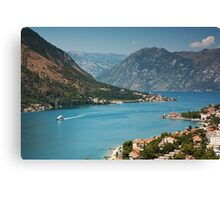 Bay Of Kotor Canvas Print