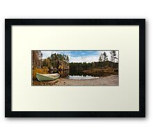 Oulanka National Park Framed Print
