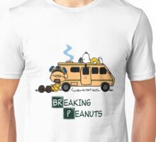 Breaking Peanuts Unisex T-Shirt