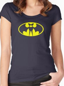Zubat Pokemon Batman Women's Fitted Scoop T-Shirt