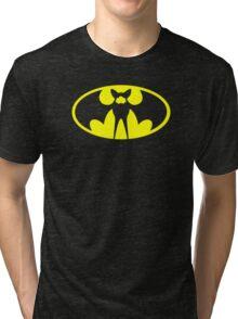 Zubat Pokemon Batman Tri-blend T-Shirt