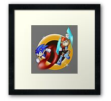 Battle Couple Framed Print