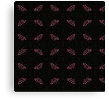 Butterfly pink Canvas Print