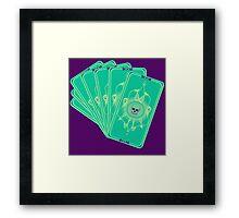 Tarot (Fan) Framed Print