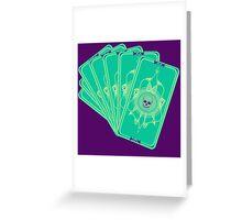 Tarot (Fan) Greeting Card