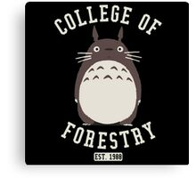 College of Forestry Canvas Print