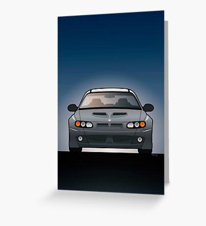 Modern Australian Icons: Holden Monaro HSV Z Series Greeting Card