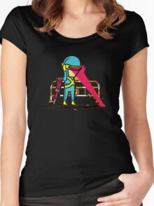 Superheroes Freelance Women's Fitted Scoop T-Shirt