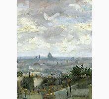1886-Vincent van Gogh-View of Paris Unisex T-Shirt